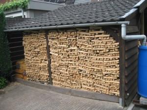 voorbeeld houtopslag